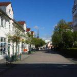 Altstadt von Schwedt/Oder.