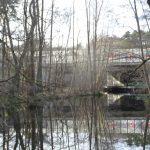 Blick auf die A 10 Froschbrücke