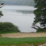 Langer See, Badestelle in Garzin
