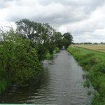 Letschiner Hauptgraben bei Neutrebbin-Entwässerungsgraben im Oderbruch