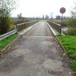 Brücke über die Alte Finow am Schöpfwerk Liepe