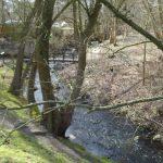 Briesesteig-Angang in Birkenwerder
