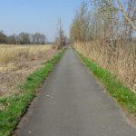 Havelradweg an der Bauschuttdeponie Götz