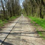 Havelradweg hinter Kützkow