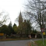 Parstein mit Kirche von 1735