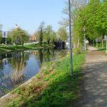 Rad- Wanderweg am Stadtkanal