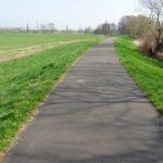Havelradweg auf dem Haveldeich