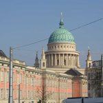 Stadtschloß Potsdam und Turm von St. Nikolai