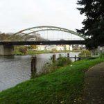 Straßenbrücke B 158 Oderberg über Wriezener Alte Oder