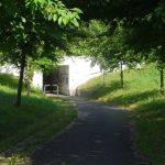 Radfahrertunnel unter der Bahn hindurch in Küstrin-Kietz