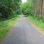 Radweg Richtung Klosów