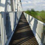 Radweg über die Elbebrücke