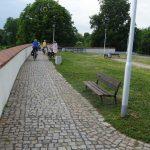 Festung Küstrin - Kattepromenade auf der Bastion Brandenburg