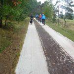 Radweg am Rambower Moor