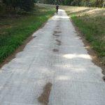Radweg bei Gorleben