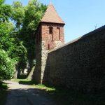 Stadtmauer von Osno Lubuskie (Drossen)