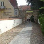 Zugang Burg Lenzen
