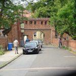 Ausgang vom Klostergelände