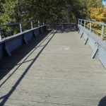 Bahn-, Radfahrerbrücke Lünower Sträng