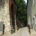 Bernau Mauerdurchgang neben dem Mühlentor