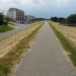 Radweg in Börgerende
