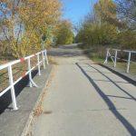 Radweg über den Kanal