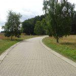 Straße Altglobsow-Burow
