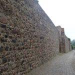 Weg vor der Stadtmauer Templin