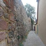 Weg hinter der Stadtmauer zum Eichwerder Tor