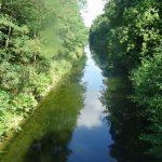 Mündung Werbellinkanal in den Oder-Havel-Kanal