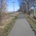 Storchenradweg-Eisenbahntrasse nach Klein Kreutz
