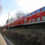 Havelradweg und Bahnlinie