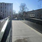 Fußgängerbrücke über den Stadtkanal