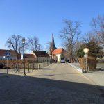 Markt Ketzin mit St. Petri Kirche