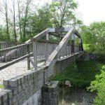 Spreeradwegbrücke am Stausee