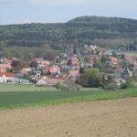 Blick auf Walddorf und den Kottmar