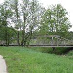 Radwegbrücke über das Löbauer Wasser