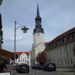 Lange Str. mit Rathausturm