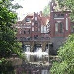Mühlgrabenwehr mit Wilhelmsmühle und E-Werk