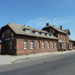 denkmalgeschützter Bahnhof Beeskow