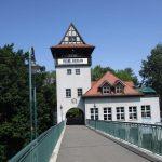 Brückenturm und Abtei