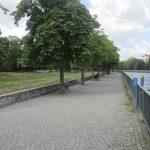 Uferweg an der Gotzkowskybrücke