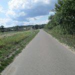 Straße nach Garnowo