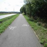Radweg Ortsausgang Gryfino