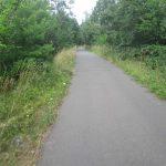 Bahntrassenradweg Abschnitt Knehden-Metzelthin