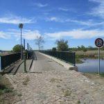 Einlaßbauwerk und Brücke Schneller Graben