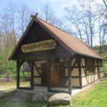 Vorlaubenhaus im geologischen Garten