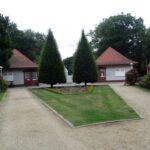 Forst-Eingang zum Ostdeutschen Rosengarten